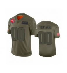 Youth New England Patriots Customized Camo 2019 Salute to Service Limited Jersey