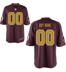Youth Washington Redskins Nike Alternate Customized Game Jersey