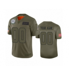 Youth Seattle Seahawks Customized Camo 2019 Salute to Service Limited Jersey