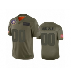 Youth Minnesota Vikings Customized Camo 2019 Salute to Service Limited Jersey