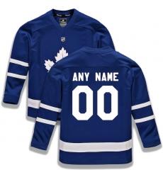 Youth Toronto Maple Leafs Fanatics Branded Blue Home Replica Custom Jersey