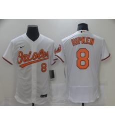 Men's Baltimore Orioles #8 Cal Ripken Nike White Authentic 2020 Home Jersey