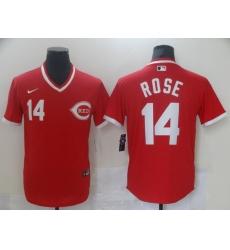 Men's Nike Cincinnati Reds #14 Pete Rose Red Authentic Jersey