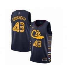 Men's Cleveland Cavaliers #43 Brad Daugherty Swingman Navy Basketball Jersey - 2019 20 City Edition