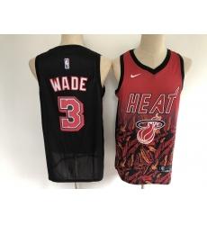 Men's Miami Heat #3 Dwyane Wade Salute To Service Basketbal Jersey