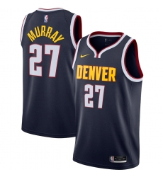 Men's Denver Nuggets #27 Jamal Murray Nike Navy 2020-21 Swingman Jersey