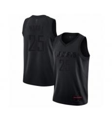 Men's Houston Rockets #25 Robert Horry Swingman Black MVP Basketball Jersey