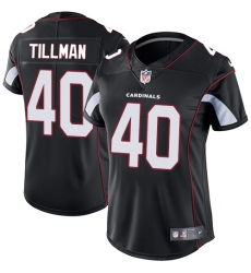 Women's Nike Arizona Cardinals #40 Pat Tillman Black Alternate Vapor Untouchable Limited Player NFL Jersey