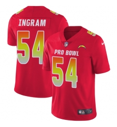 Women's Nike Los Angeles Chargers #54 Melvin Ingram Limited Red 2018 Pro Bowl NFL Jersey