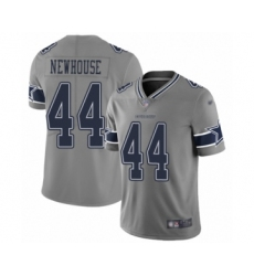 Men's Dallas Cowboys #44 Robert Newhouse Limited Gray Inverted Legend Football Jersey