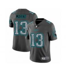 Men's Miami Dolphins #13 Dan Marino Limited Gray Static Fashion Limited Football Jersey