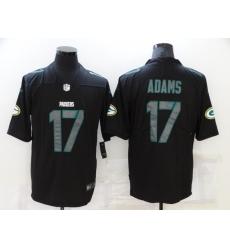 Men's Green Bay Packers #17 Davante Adams Black Nike Limited Jersey