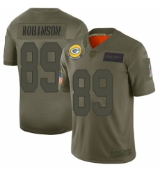 Men's Green Bay Packers #89 Dave Robinson Limited Camo 2019 Salute to Service Football Jersey