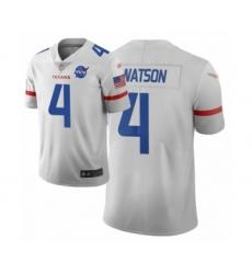Women's Houston Texans #4 Deshaun Watson Limited White City Edition Football Jersey